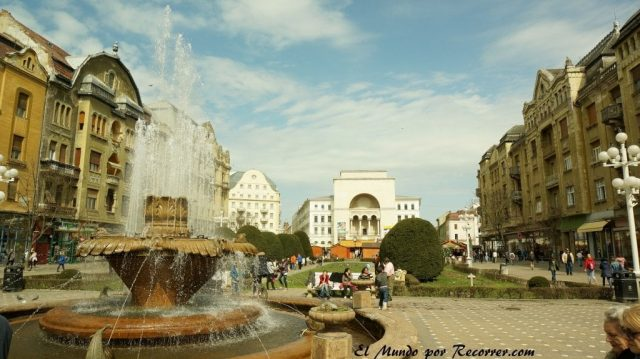 plaza de la victoria timisoara rumania