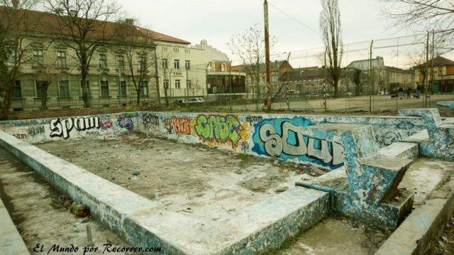 timisoara piscina vacia en rumania