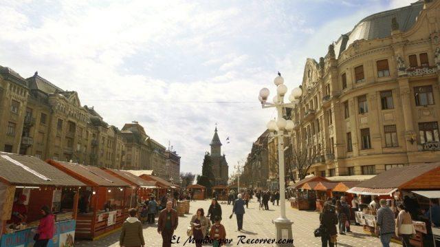 timisoara plaza de la victoria en rumania