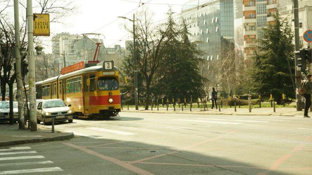 belgrado tranvia antiguo