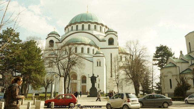 templo de savas en belgrado serbia