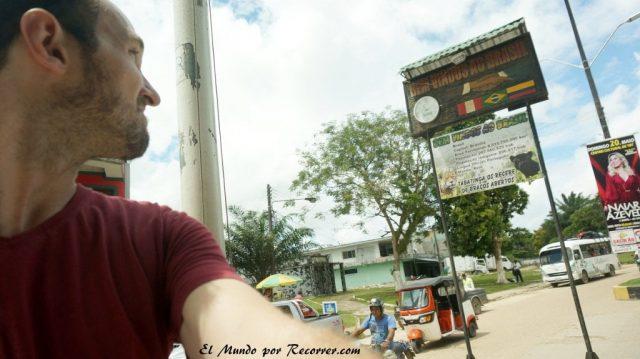 Leticia en el amazonas colombiano frontera con brasil