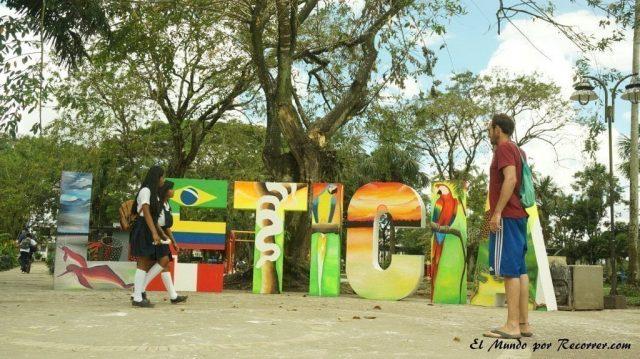 Leticia en el amazonas colombiano letras
