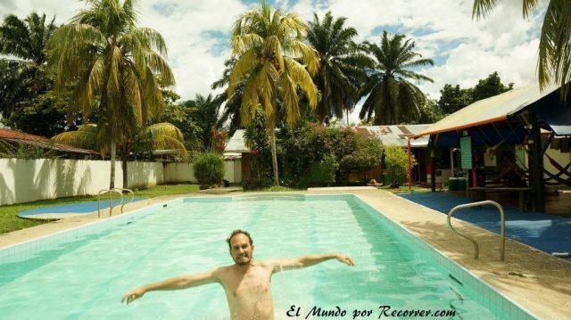 Leticia en el amazonas colombiano piscina casa de las palmas