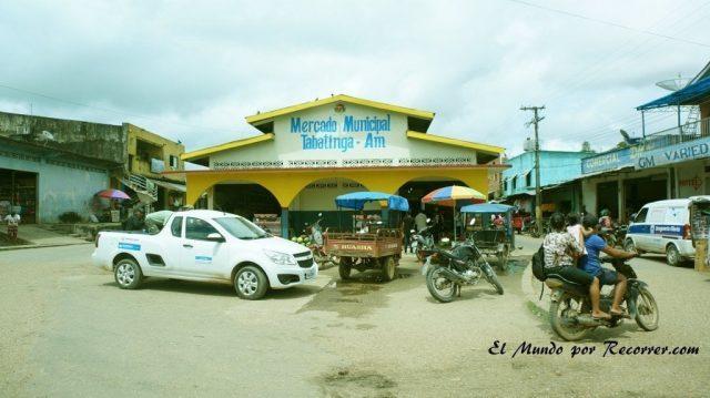 Leticia en el amazonas colombiano plaza de tabatinga