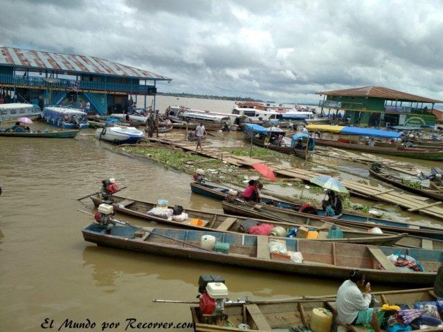 Leticia en el amazonas colombiano puerto