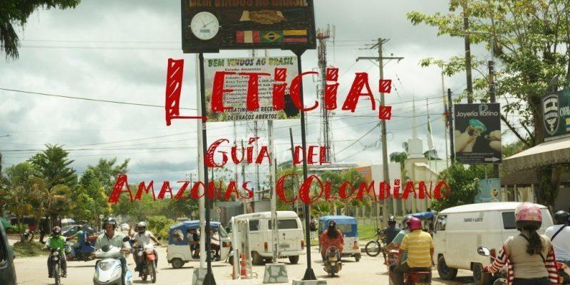 leticia amazonas  fronteras guia del amazonas colombiano