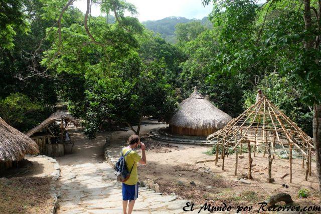 pueblito en el parque natural tayrona low