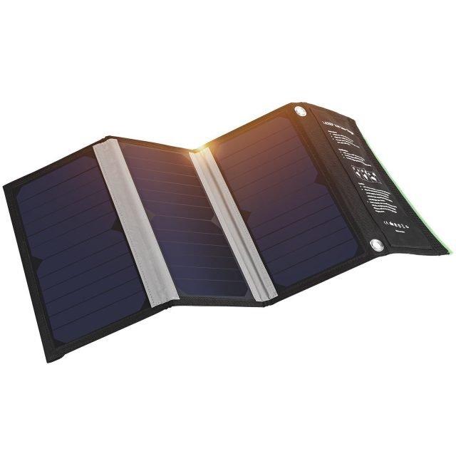 Cargador Panel Solar W