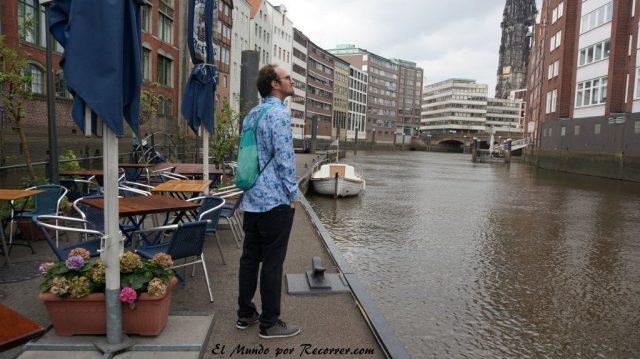 Hamburg alemania el mundo por recorrer canal haffencity