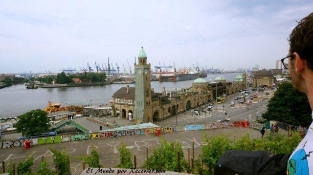 Hamburg alemania el mundo por recorrer puerto haffen