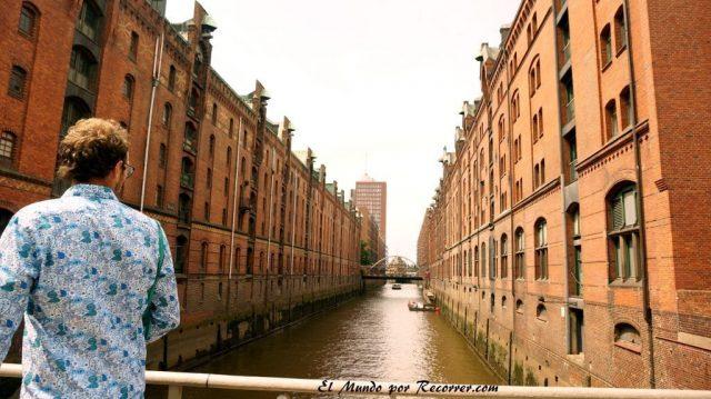 Hamburg alemania el mundo por recorrer speicherstadt