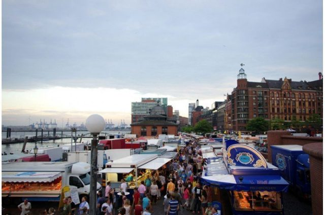 Hamburg alemania spezial fischmarkt