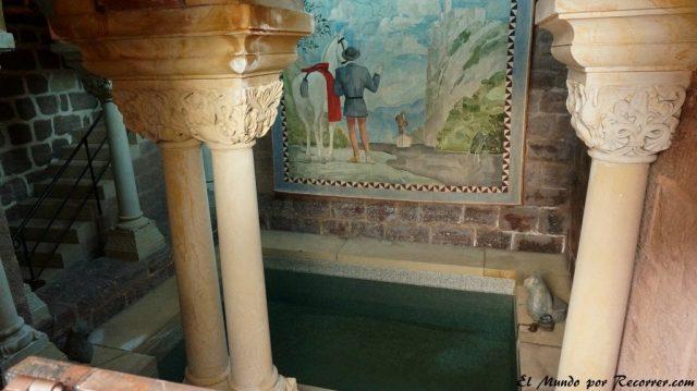 Eisenach Alemania castillo de Wartburg baños del rey