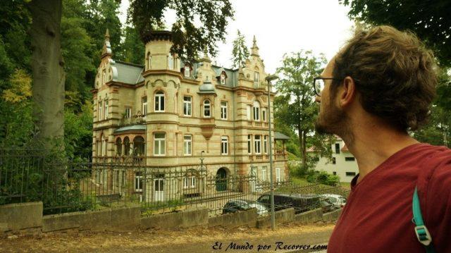 Eisenach Alemania castillo de Wartburg casa