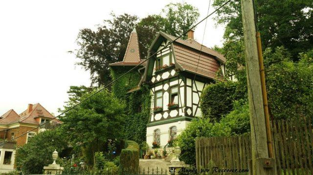 Eisenach Alemania castillo de Wartburg casas