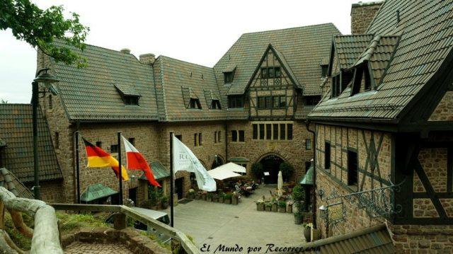 Eisenach Alemania castillo de Wartburg romantik hotel