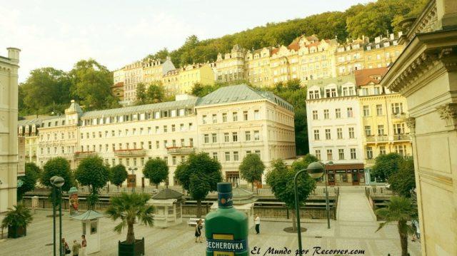Karlovy Vary Republica Checa Carlsbad casas bonitas