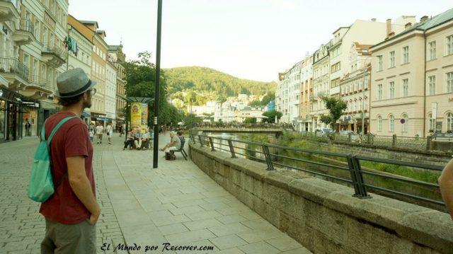 Karlovy Vary Republica Checa Carlsbad casco historico