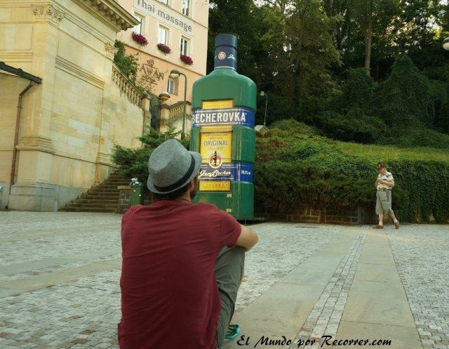 Karlovy Vary Republica Checa Carlsbad licor de hierbas
