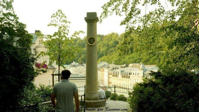 Karlovy Vary Republica Checa Carlsbad mirador