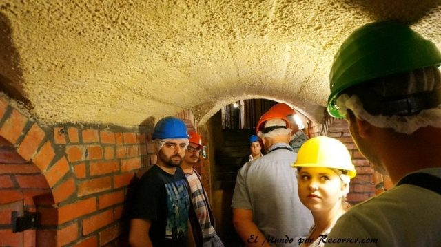 Republica checa pilsen tuneles ciudad