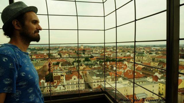 Republica checa pilsen vistas desde la torre de la catedral
