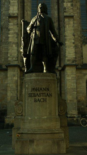 Bach leipzig iglesia