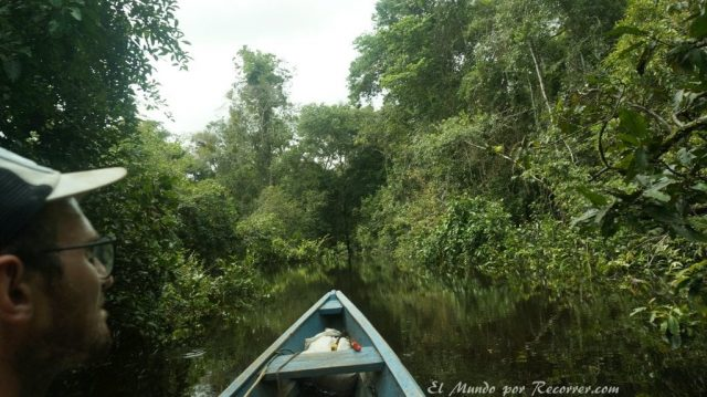 Comunidad Indigena en el amazonas Leticia Colombia