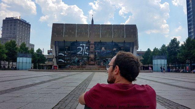 Leipzig plaza augustiner alemania