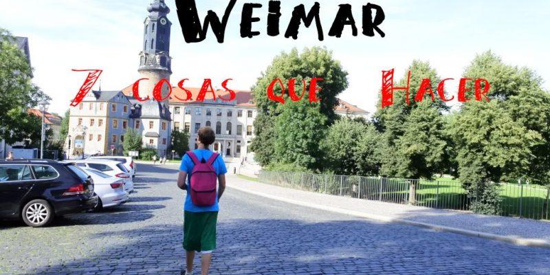 Weimar  cosas que hacer