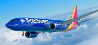 avion azul