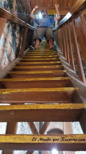 escaleras castillo udyne pilsen republica checa
