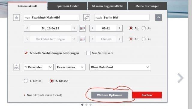frankfurt berlin mas opciones tren