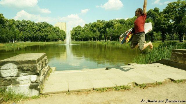 leipzig alemania parque