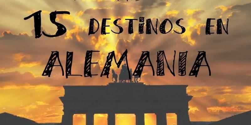 los mejores  destinos en ALEMANIA