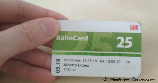 trenes alemania bahn card
