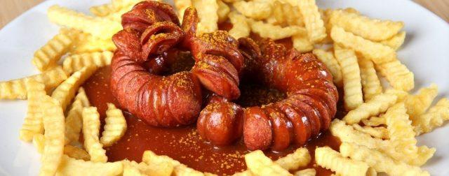 Currywurst salchicha alemania