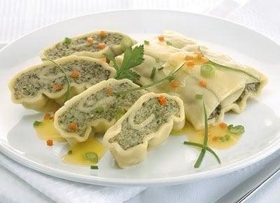 Maultaschen comida alemana tipica