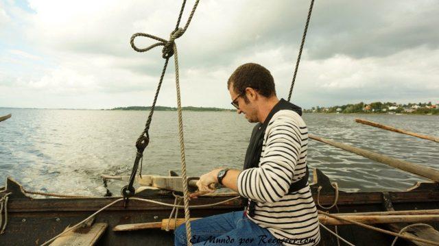 Viajar a Copenhague barco vikingo en roskilde