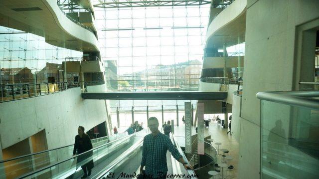 Viajar a Copenhague biblioteca nacional