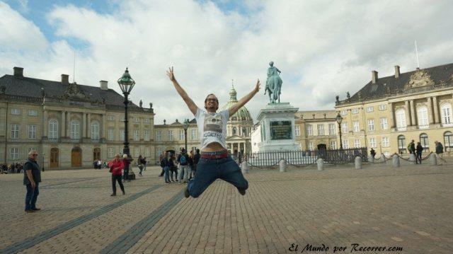 Viajar a Copenhague palacio amalienborg