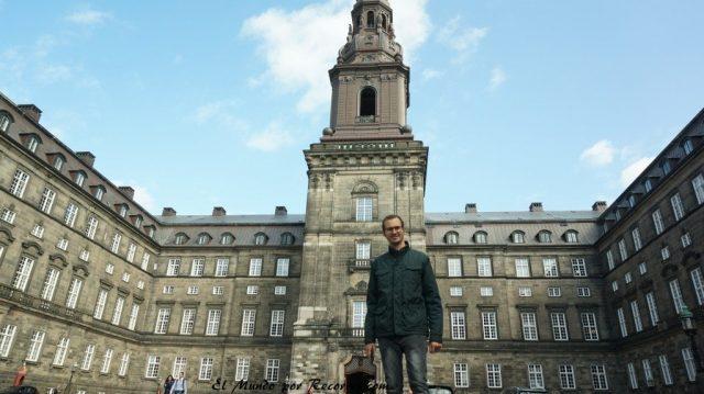 Viajar a Copenhague parlamento