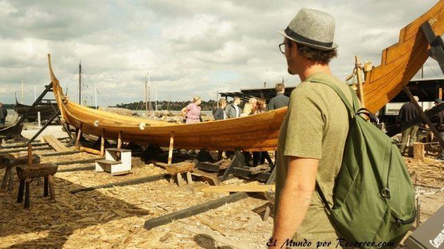 Viajar a Copenhague roskildeo museo de barcos