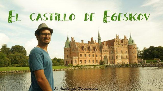 El Castillo de Egeskov en Fyn, Dinamarca