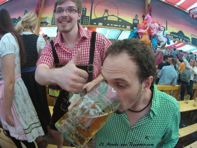 alemania cerveza oktoberfest