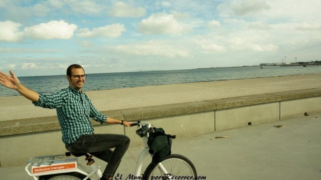 en bicicleta pablo copenhague