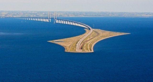 oresund puente copenhague