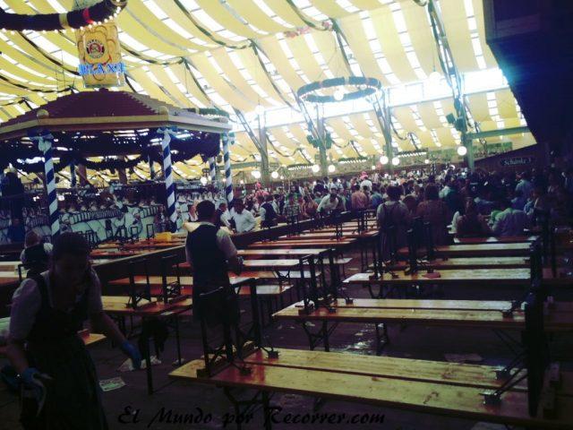 Oktoberfest Alemania El mundo por Recorrer