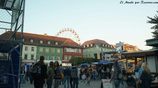 Zwiebelmarkt weimar Alemania la fiesta de la cebolla noria